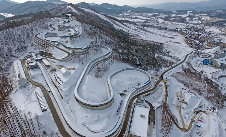 Winter Olympics in South Korea Pyeongchang