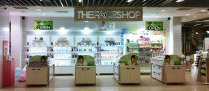 korean brands : face shop
