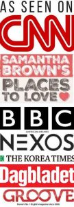 "CNN, BBC, Samantha Brown's ""Places To Love"""
