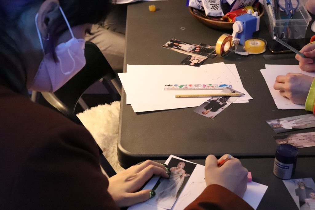 Fashion Illustration Classes in Seoul © Mariangela Lucia